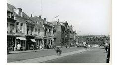 De Houtmarkt vanaf de Ginnekenstraat.