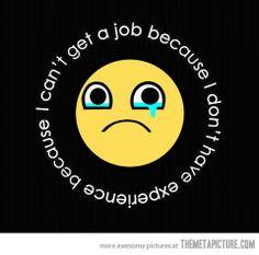 i can t get a job