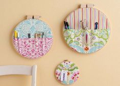 Embroidery hooks  storage crafts sewing organize organization organizer organizing organization ideas being organized organization images storage ideas organization idea pictures craft room repurposing sewing room