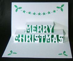 Il biglietto di Natale pop up fai da te