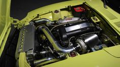 Datsun 240Z with a custom SR20DET, a 2.0-liter turbocharged four-cylinder engine