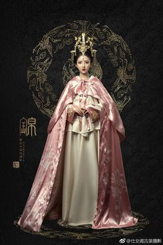 Oriental Dress, Oriental Fashion, Asian Fashion, Chinese Traditional Costume, Traditional Dresses, Fantasy Photography, Chinese Clothing, Pink Outfits, Chinese Culture