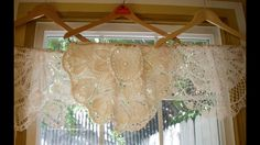 """This is my fun idea for a """"valance""""."""