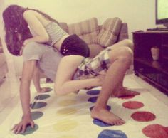 Now THIS is a game of Twister I could get behind.... *fans self* #GotRomance