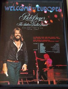 From The Wayback Machine. Your home for the best Music and Classic Rock videos, photos, news, and humor as well as original content you. Best 80s Music, Music Love, Rock Music, Bob Seger, Dave Edmunds, E Street Band, Great Smiles, American Tours, Silver Bullet