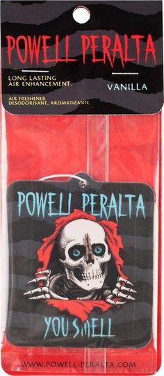 0b5a5c55bb25e Powell Peralta Ripper Air Freshener Vanilla