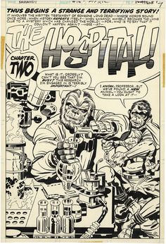 Kamandi # 16 page 5 - Jack Kirby (Penciller) and Mike Royer (Inker) - April, Comic Book Pages, Comic Book Artists, Comic Book Characters, Comic Artist, Comic Books Art, Marvel Comics Superheroes, Dc Comics Art, Terrifying Stories, Jack Kirby Art