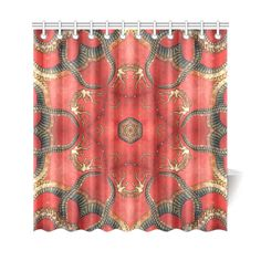 magic mandala 8 Shower Curtain 69