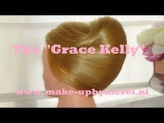 HOW TO: Grace Kelly Wedding updo by Make-upByMerel Tutorials - YouTube