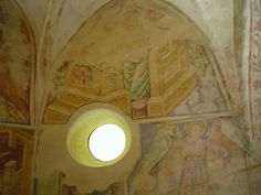 The church of light, Velemér, Hungary Built in the late century this Romanesque and early Gothic edifice has become world famous thanks to the frescos created by John Aquila around John. Church Of Light, Romanesque, Hungary, Fresco, Budapest, Mirror, Architecture, Building, Travel