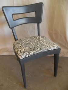 HEYWOOD-WAKEFIELD Custom DOGBONE DINING CHAIR Wood Replacement Seats ONLY