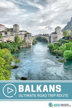 The ultimate one month road trip route through the Balkans, stopping in 7 countries including Croatia, Bosnia, Serbia, and Montenegro. How to plan the perfect road trip itinerary + best things to do in each destination.   Back-Packer.org