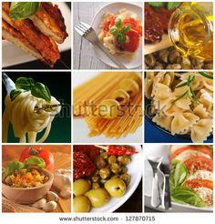 Italian cuisine collage