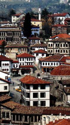 UNESCO World Heritage: Safranbolu, Turkey. By virtue of its key role in the caravan trade over many centuries, Safranbolu enjoyed great prosperity and. Beautiful Places To Visit, Cool Places To Visit, Turkish Architecture, Turkey Country, Republic Of Turkey, Visit Turkey, Sultan, All Nature, Turkey Travel