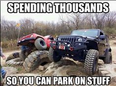 Jeep, but same goes for trucks...love it