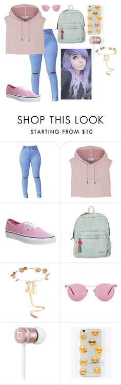 """""""poiuy"""" by annie-hall-barton ❤ liked on Polyvore featuring adidas, Vans, Billabong, Eugenia Kim, Oliver Peoples, Beats by Dr. Dre and Ankit"""