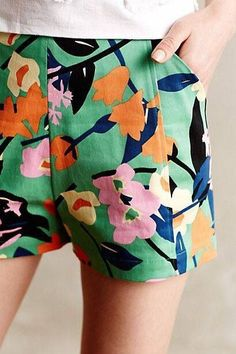 Siroi Petite Shorts by WHIT Two Multi from Anthropologie. Shop more products from Anthropologie on Wanelo. Mode Style, Style Me, Look Fashion, Womens Fashion, Street Fashion, Korean Fashion, Fashion Tips, Petite Shorts, Inspiration Mode