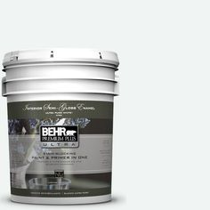 BEHR Premium Plus Ultra 5-gal. #BL-W9 Bakery Box Semi-Gloss Enamel Interior Paint