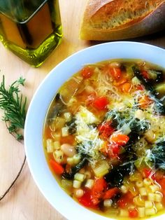 A Virtual Pot of Pasta Fagioli Soup for my Friends - Proud Italian Cook