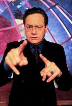 Lewis black. One of my favorite comedians.  If you don't know who he is....I feel sorry for you! :)