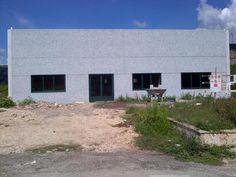 Our home is going on... we have windows and doors now!!