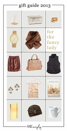 Holiday Gift Guide | Fancy Lady Edition