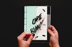 Zine: Carte Blanche on Behance