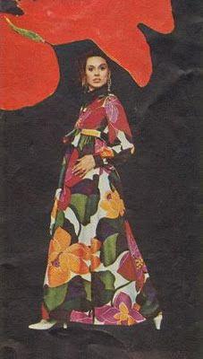 1970s Maxi  #FlowerShop #Anthropologie