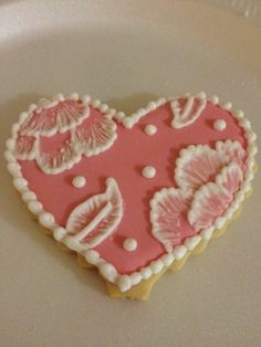 A valentine cookie I made