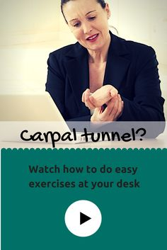 Ward off carpal tunnel @ your desk