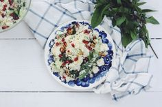Cooling Cauliflower 'Couscous' Salad
