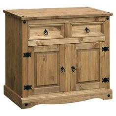 Corona 2 Door, 2 Drawer Sideboard