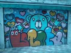 Store front in Busan