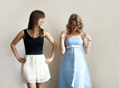Hey, I found this really awesome Etsy listing at http://www.etsy.com/listing/127881460/vintage-pastel-blue-prom-dress-with-a bridesmaid dress either one