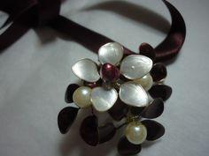 Geschenkidee für die Freundin - Schmuck aus Draht mit Perlen