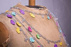 #oya - turkish lace - needle lace - crochet - necklace