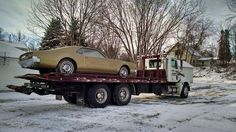 Coming our of storage and on it's way to Arizona - 1966 Oldsmobile Toronado - Danny Jarvi