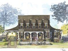 House Plan - Woodridge - Stephen Fuller, Inc.