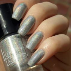 Green, Glaze & Glasses: Catrice Luxury Lacquers LE - Holomania C01 Holo Manolo