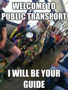 Public Transport, welcome to public transport, i will be your guide