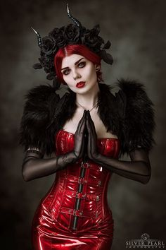 Photo: Silver Pearl Photography Model: Elisanth Headpiece: MyWitchery Bolero: Artifice Clothing Lenses: Samhain Contact Lenses Welcome to Gothic and Amazing |www.gothicandamazing.com