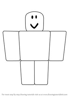 Learn How to Draw Noob from Roblox (Roblox) Step by Step : Drawing Tutorials Roblox Cake, Roblox Roblox, Roblox Birthday Cake, 8th Birthday, Birthday Parties, Birthday Ideas, Cake Templates, Making Shirts, Learn To Draw