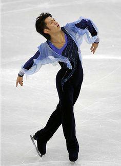 Daisuke Takahashi / Japanese figure skater.