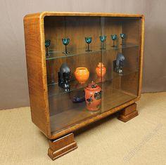 Art Deco Display Cabinet C.1930. - Antiques Atlas
