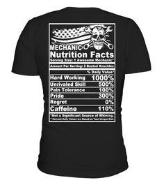 Mechanic Nutrition - EXCLUSIVE!  Machinist shirt, Machinist mug, Machinist gifts, Machinist quotes funny #Machinist #hoodie #ideas #image #photo #shirt #tshirt #sweatshirt #tee #gift #perfectgift #birthday #Christmas