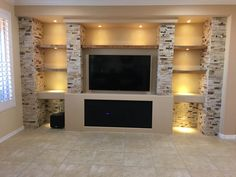 New Photo Fireplace Remodel with tv Tips In case a room has a fireplace, it is often the focal point of the room. Update the fireplace with c Fireplace Tv Wall, Basement Fireplace, Family Room Fireplace, Fireplace Remodel, Fireplace Design, Fireplace Ideas, Living Room Wall Units, Living Room Tv Unit Designs, Home Living Room