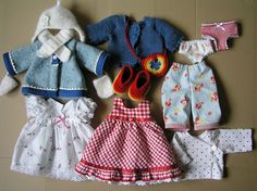 Clothes for waldorf doll - set
