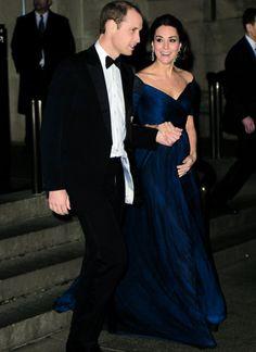The Duke and Duchess of Cambridge in New York City. December 2014.