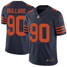 Youth Nike Chicago Bears #90 Jonathan Bullard Limited Navy Blue 1940s Throwback Alternate NFL Jersey