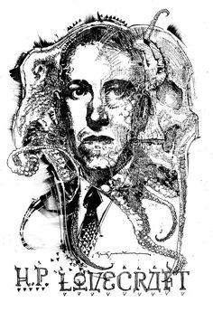 Lovecraft by Bill Sienkiewicz
